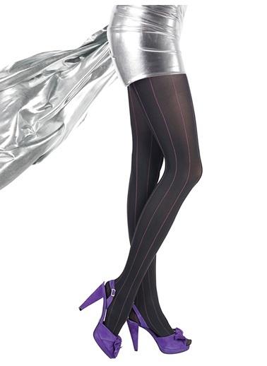 Desenli Külotlu Çorap -Pierre Cardin